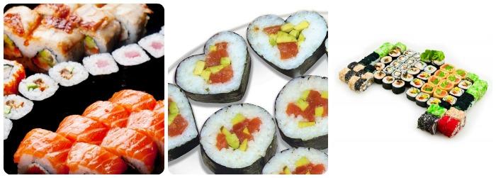 Как приготовить суши или
